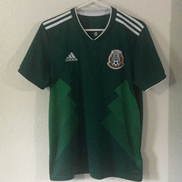 detailed look 8e936 391dd Mexico national team 2018 World Cup soccer Jersey